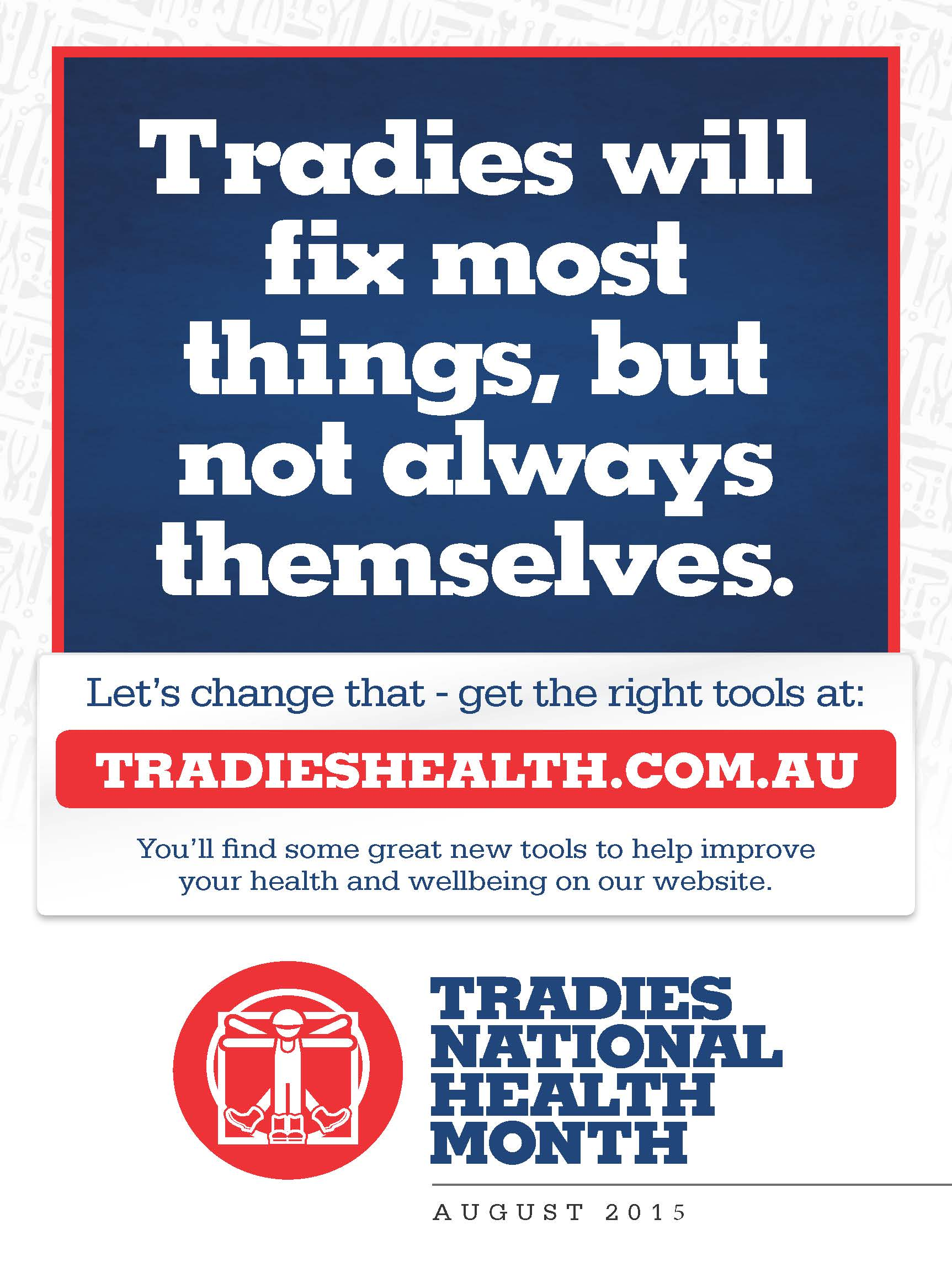 Tradies Health Month